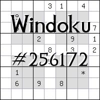 Windoku №256172