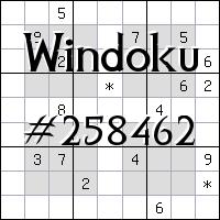 Windoku №258462