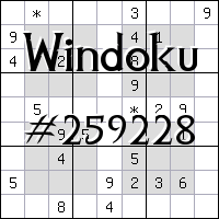 Windoku №259228