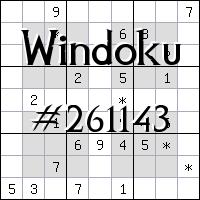 Windoku №261143