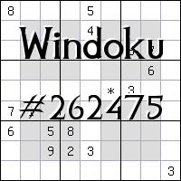 Windoku №262475