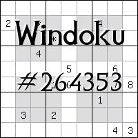Windoku №264353