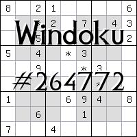 Windoku №264772