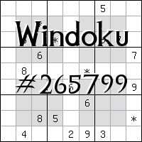 Windoku №265799