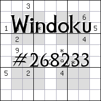 Windoku №268233
