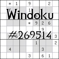 Windoku №269514