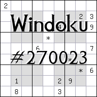 Windoku №270023