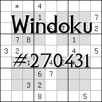 Windoku №270431