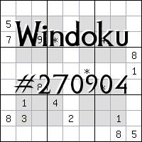 Windoku №270904