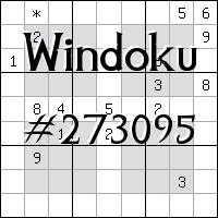 Windoku №273095