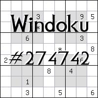 Windoku №274742