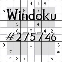 Windoku №275746