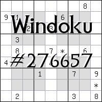 Windoku №276657