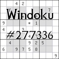 Windoku №277336