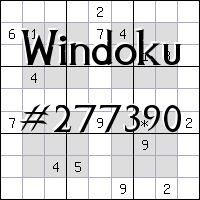 Windoku №277390