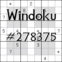 Windoku №278375