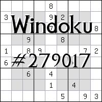 Windoku №279017