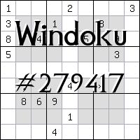 Windoku №279417