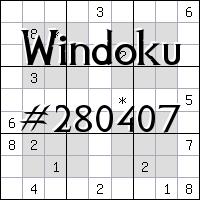 Windoku №280407