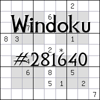 Windoku №281640