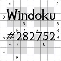 Windoku №282752