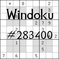 Windoku №283400