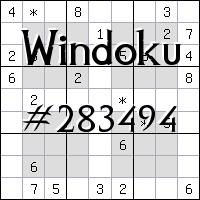 Windoku №283494