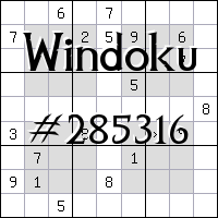 Windoku №285316