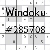 Windoku №285708