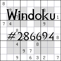 Windoku №286694