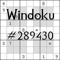 Windoku №289430