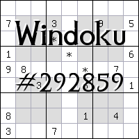 Windoku №292859