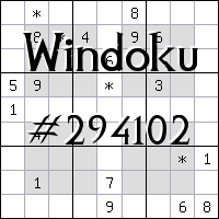 Windoku №294102