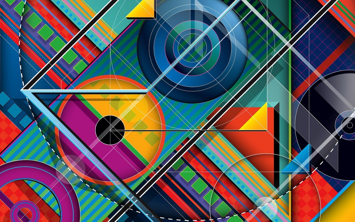 Jigsaw Puzzle Solve jigsaw puzzles online - Abstraction with circles