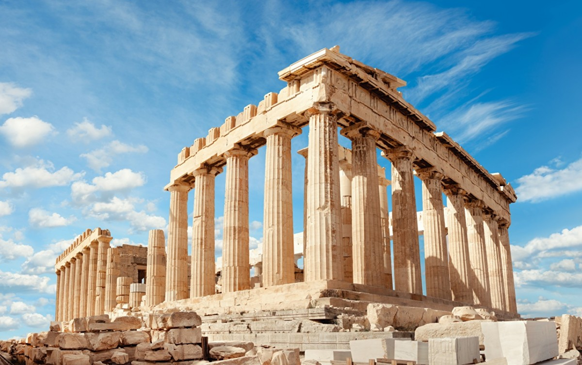 Jigsaw Puzzle Solve jigsaw puzzles online - The Acropolis in Athens