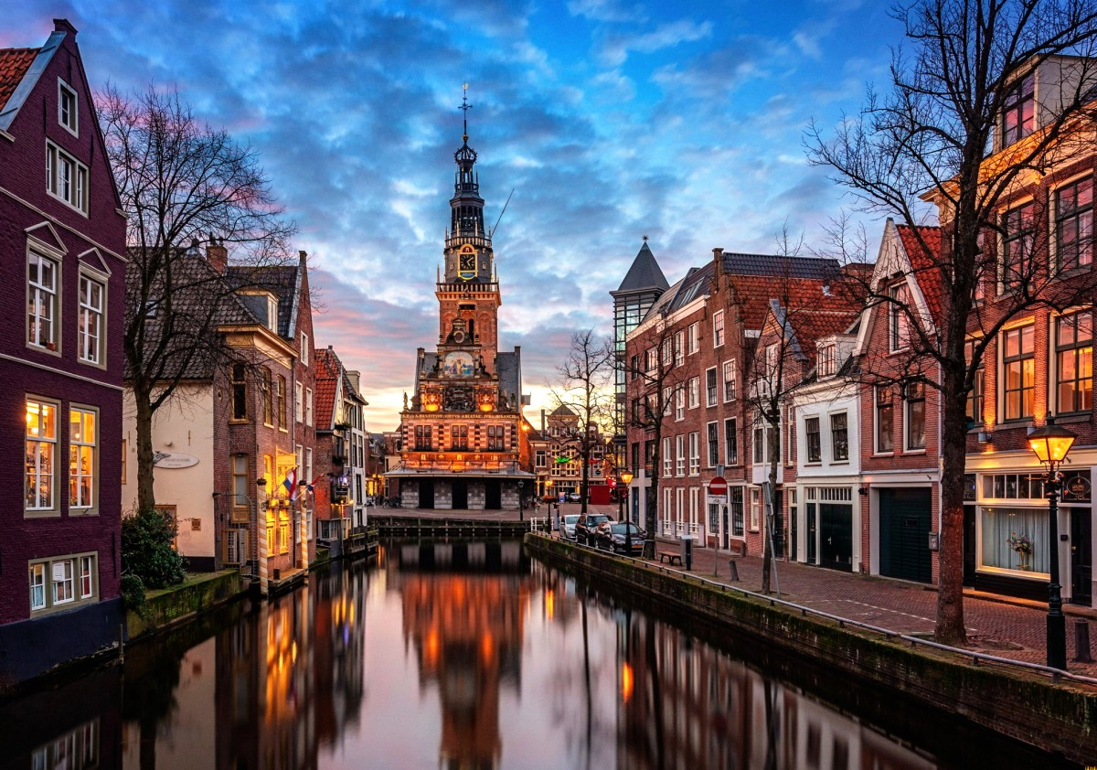 Jigsaw Puzzle Solve jigsaw puzzles online - Alkmaar The Netherlands