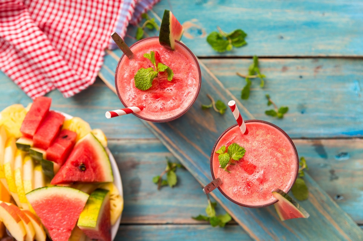 Jigsaw Puzzle Solve jigsaw puzzles online - Watermelon smoothie