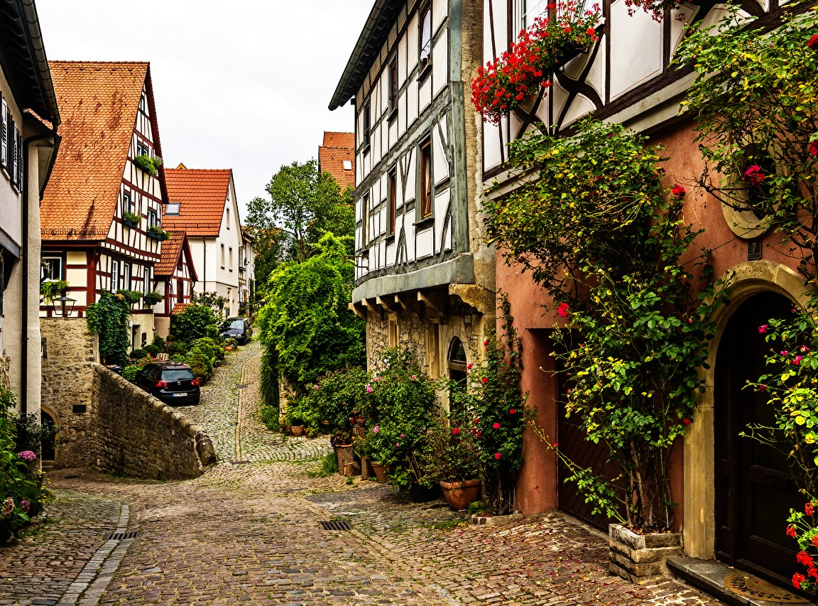 Jigsaw Puzzle Solve jigsaw puzzles online - Bad Wimpfen Germany