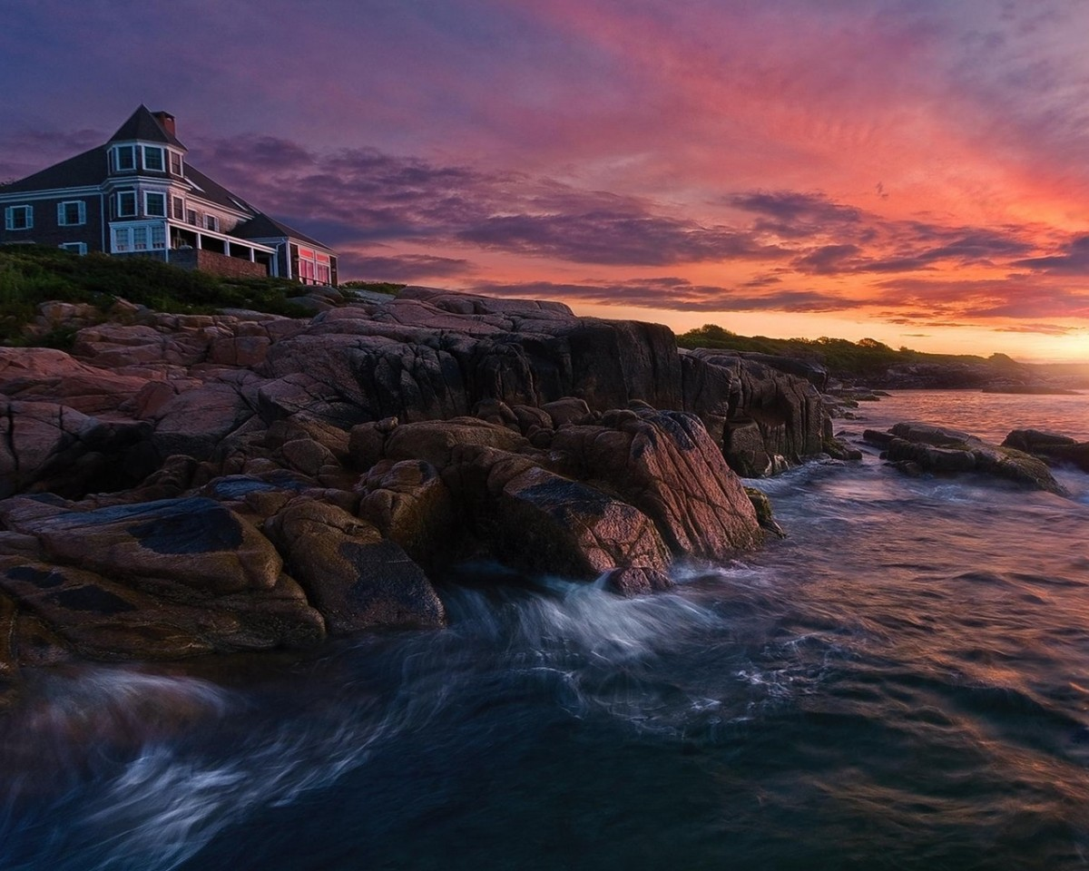 Jigsaw Puzzle Solve jigsaw puzzles online - The house on the shore