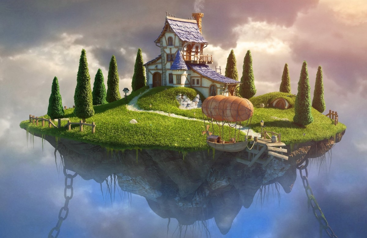 Jigsaw Puzzle Solve jigsaw puzzles online - House on the island