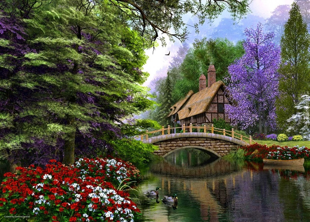 Jigsaw Puzzle Solve jigsaw puzzles online - Building the bridge