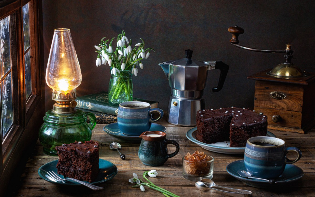 Jigsaw Puzzle Solve jigsaw puzzles online - Two cups of coffee