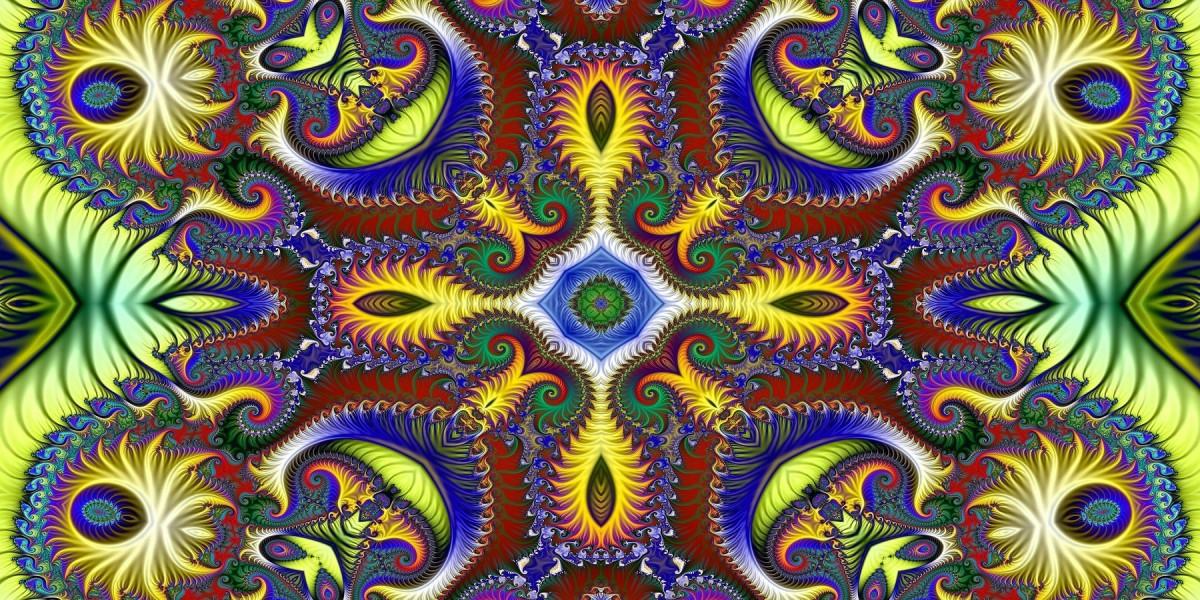 Jigsaw Puzzle Solve jigsaw puzzles online - Fractal