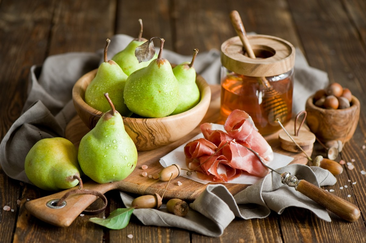 Jigsaw Puzzle Solve jigsaw puzzles online - Pear and ham