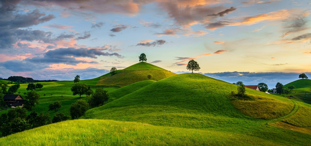 Jigsaw Puzzle Solve jigsaw puzzles online - The Hills Of Switzerland
