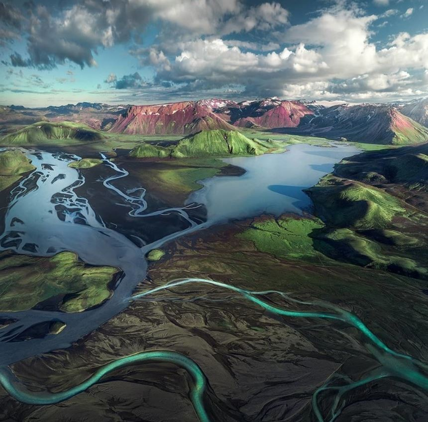 Jigsaw Puzzle Solve jigsaw puzzles online - The Icelandic plateau