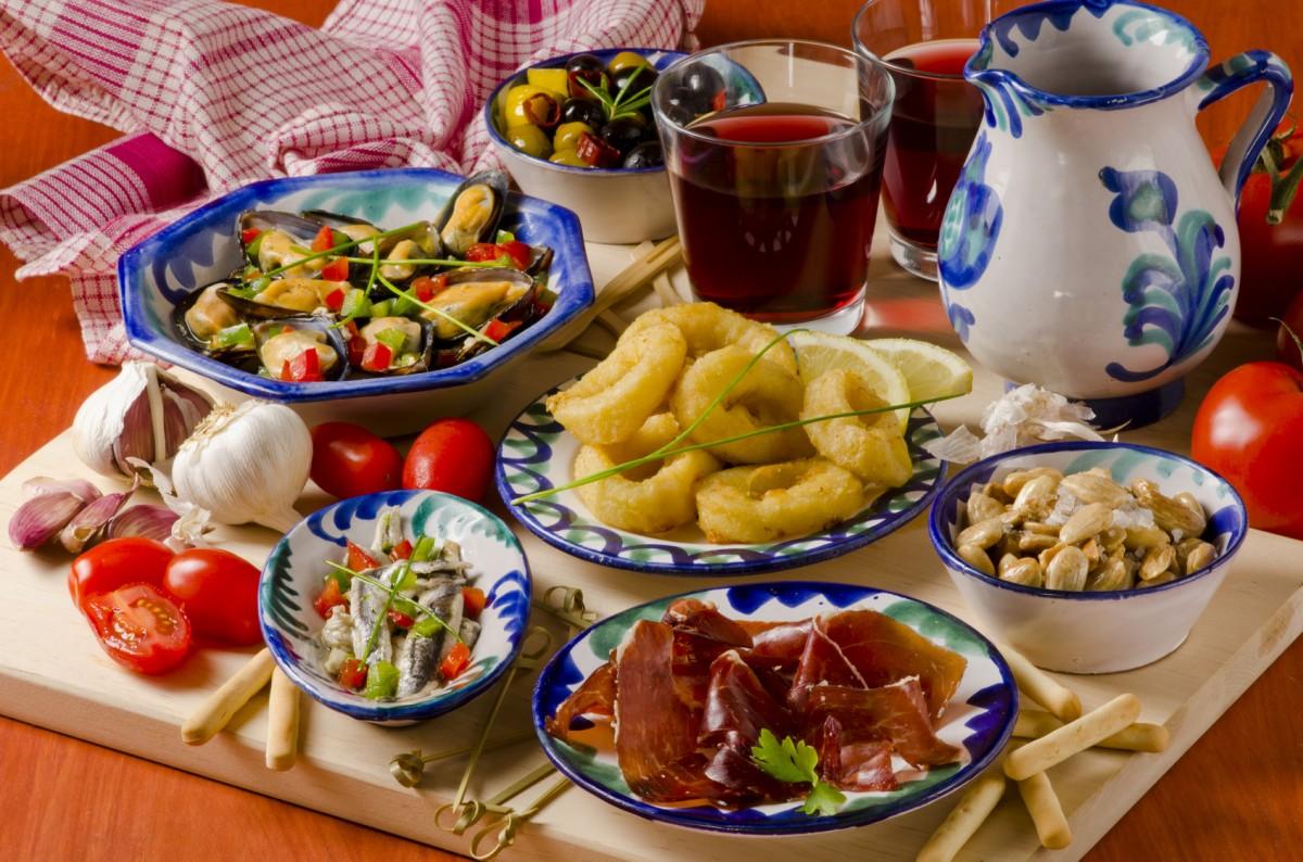 Jigsaw Puzzle Solve jigsaw puzzles online - Spanish cuisine