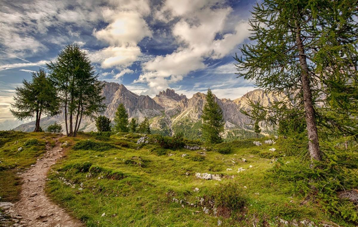 Jigsaw Puzzle Italian mountains