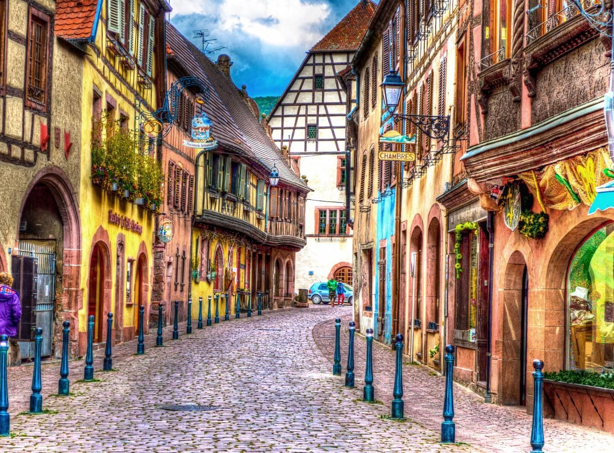 Jigsaw Puzzle Solve jigsaw puzzles online - Kaysersberg France