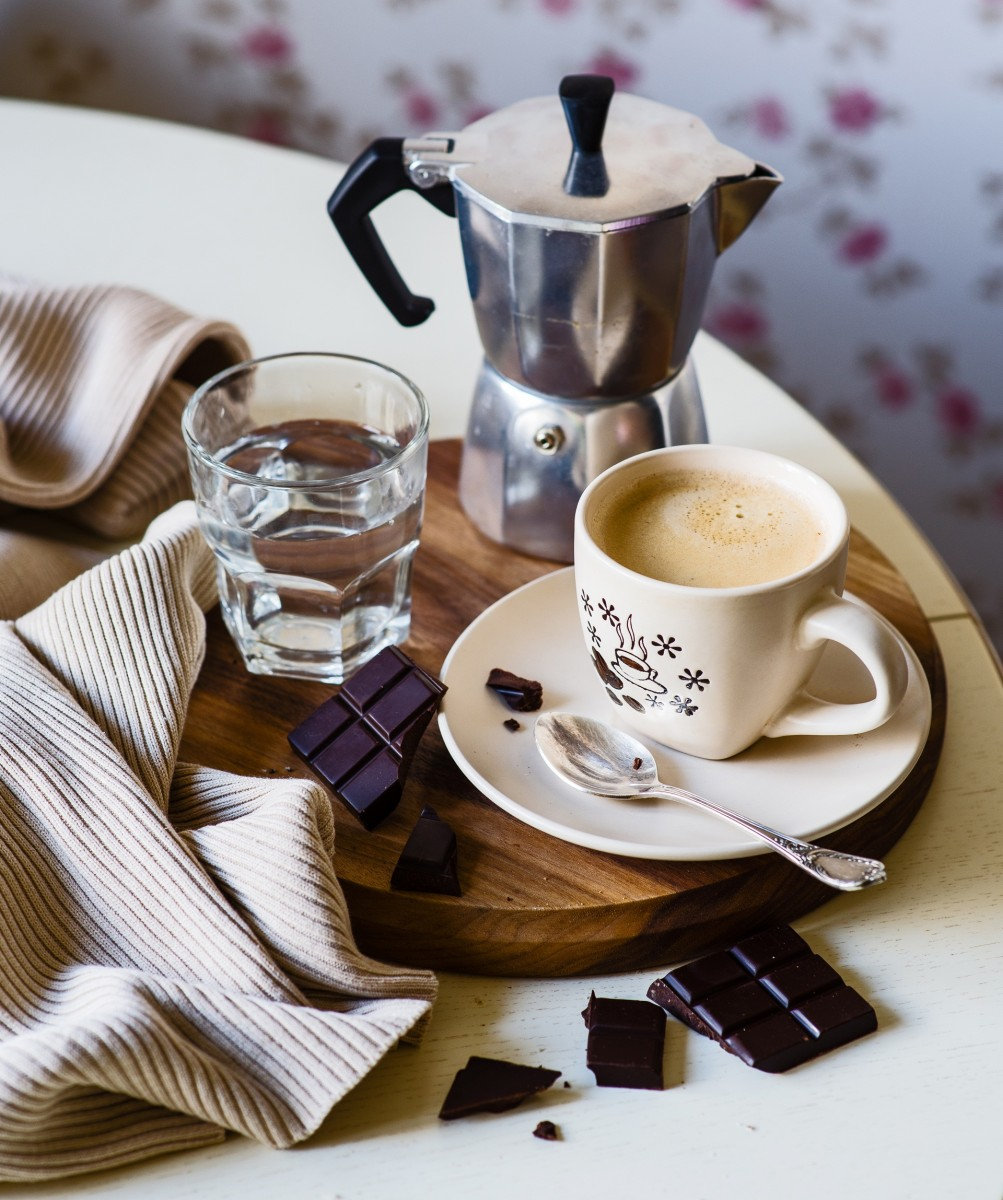 Jigsaw Puzzle Solve jigsaw puzzles online - Cappuccino with chocolate